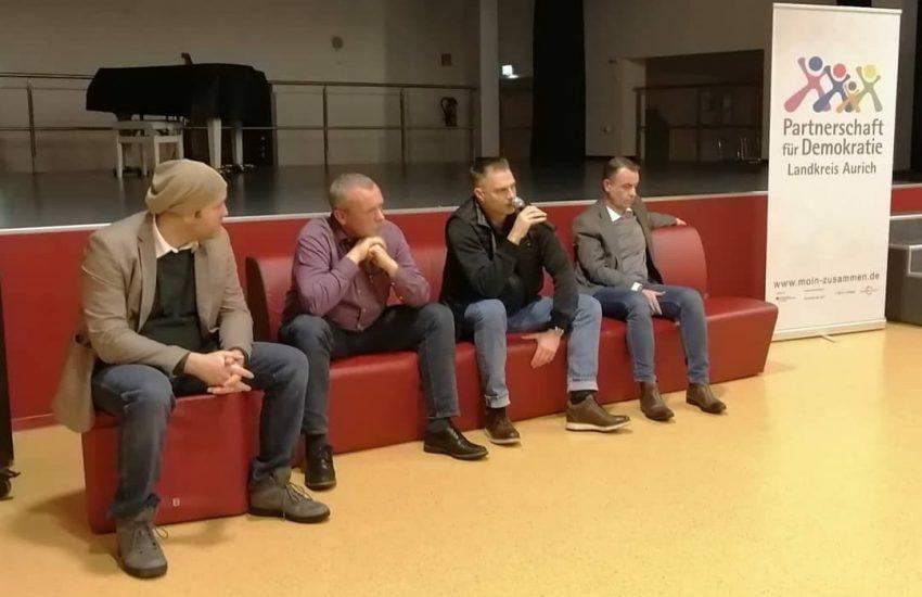Von links nach rechts: Erik Heeren, Uwe Redenius, Martin Gronewold, Christian Behringer.