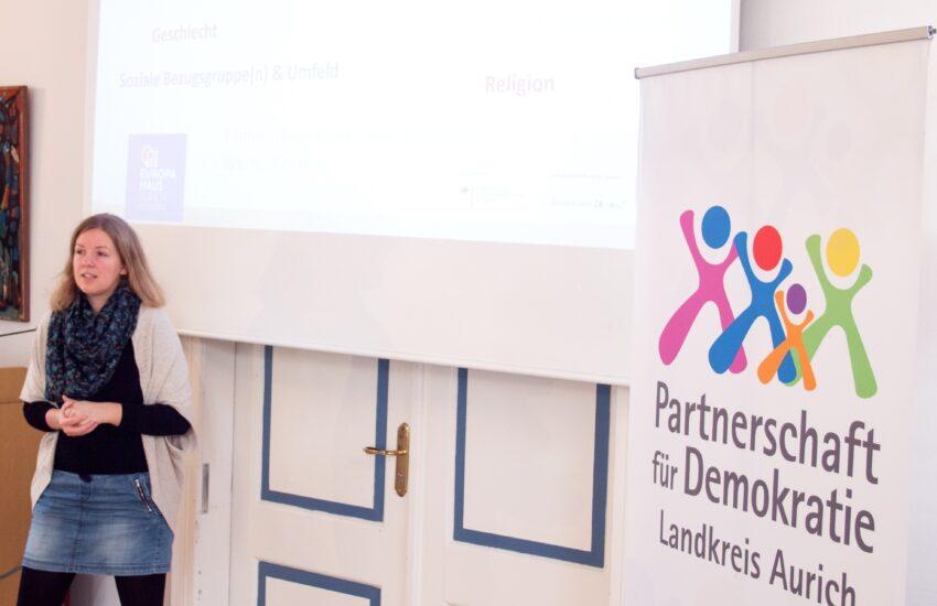 Monja Krafft - unter ihrer Führung und in Zusammenarbeit mit der PfD entfalteten sich die beiden Projekttage.