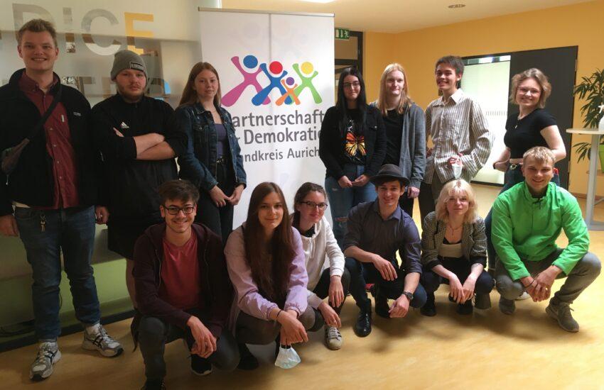 Mitglieder des Jugendforums auf der Klausurtagung in Bremen vom 20.-23. August 2021.
